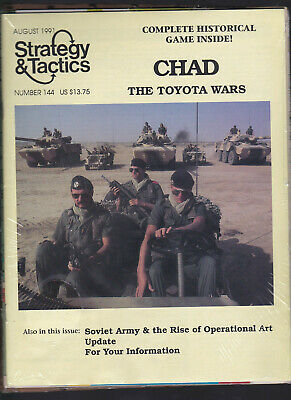 Strategy & Tactics Magazine Issue Nr.144 Chad The Toyota Wars Unpunched Copy • 10$