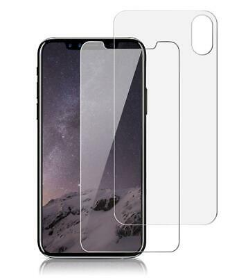 AU7.49 • Buy Nuglas Front & Back Tempered Glass Screen Protector For IPhone X XS XR XS MAX