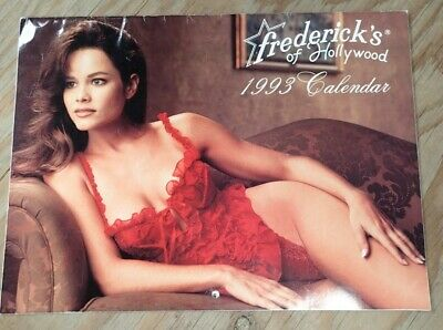 1993 Frederick's Of Hollywood Lingerie Vintage Catalog Calendar • 8.99$