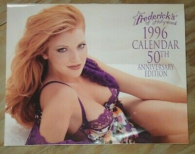 1996 Frederick's Of Hollywood Lingerie Vintage Catalog Calendar • 8.99$