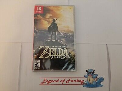 The Legend Of Zelda: Breath Of The Wild - Nintendo Switch * New Sealed Fast Ship • 54.85$