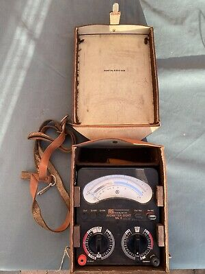 £220 • Buy AVO Meter Model 8 MK6 - Good Condition, Nice Case, No Leads, No Battery Supplied