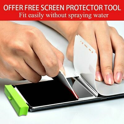 $ CDN8.84 • Buy Silicon Screen Protector For Samsung S8 A8 S10 Note 8 Cover Hydrogel Front Film