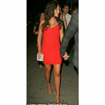 Topshop Red Cami Dress, UK Size 12 Immaculate • 20£