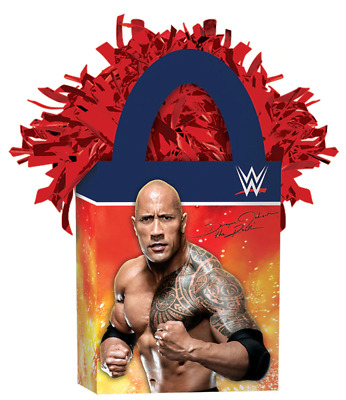 NEW  Children  Party WWE Mini Tote Balloon Weights • 6.76£