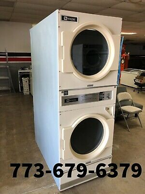 $1500 • Buy Maytag Double Stack Commercial Dryer 30 Lb Coin Operated [LN]