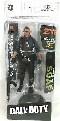 $16.95 • Buy Call Of Duty Black Ops 4 MacFarlane SOAP Action Figure W/ Accessories -NEW- #A22
