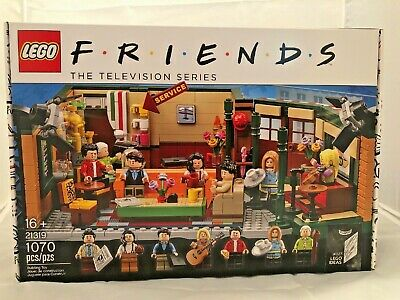 $64.99 • Buy LEGO FRIENDS TV Series Central Perk  21319 - Hard To Find, **Brand New In Hand**