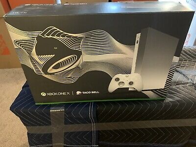 $315 • Buy PLATINUM XBOX One X Taco Bell Edition