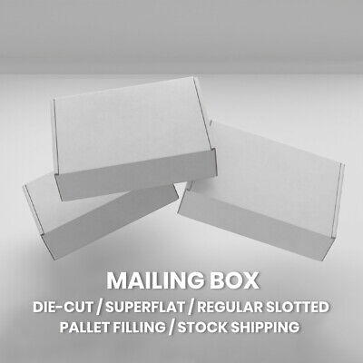 AU25.15 • Buy Mailing Boxes Shipping Mailer High Quality Cardboard A4 A5 BX1 BX2 BX6 30 Sizes