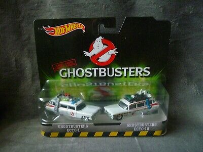 Hot Wheels Ghostbusters Twin Pack Ecto-1 & Ecto-1A • 24.99£