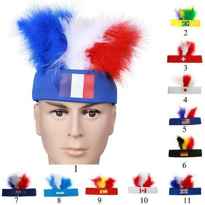 2016 The Olympic Games Party Costume Head Piece Hair Flapper Feather Headband • 2.80£