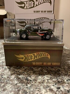 $144.99 • Buy Hot Wheels Rlc Exclusive 55 Chevy Bel Air Gasser Flying Tiger *in Hand