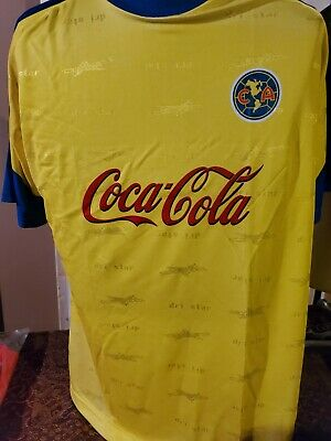 $9.99 • Buy Soccer Jersey World Cup Club America~ Yellow