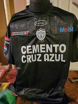 $9.99 • Buy Soccer Jersey World Cup Pachuca Cemento Cruz Azul ~ Black