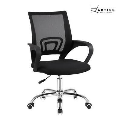 AU34.99 • Buy RETURNs Artiss Office Chair Gaming Chair Computer Mesh Chairs Executive Mid Back