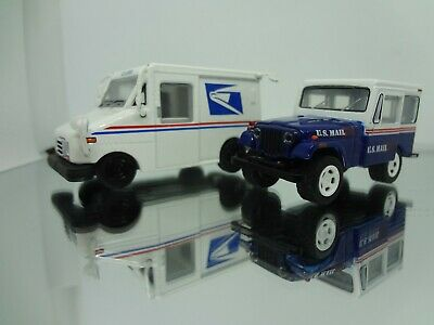 $14.98 • Buy Greenlight 1971 Jeep DJ-5 US Mail & USPS LLV Mail Delivery Loose New Mint 1:64