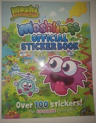 Moshi Monsters: Moshlings Official Sticker Book By Unknown (2014, Paperback) • 3.57£