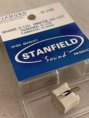 AU30 • Buy STANFIELD D 180 Turntable Record Player Stylus Sharp N 12D Onkyo Toshiba Yamaha