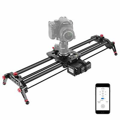 Neewer Camera Electric Slider 31.5 Inches APP Control Carbon Fiber Track Dolly • 275.91£