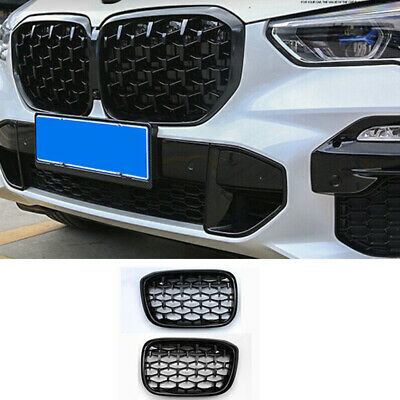 AU162.28 • Buy Black Car Front Center Grille Grill Replacement For BMW X3 G01 2018 2019 2020