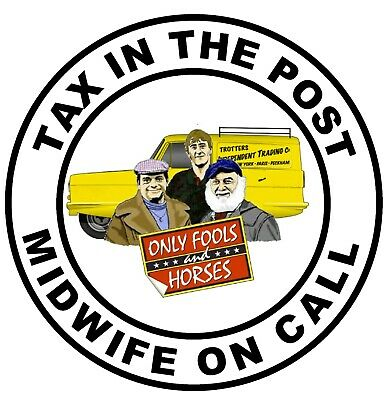 £4.75 • Buy Novelty Only Fools & Horses (tax In Post)  Car / Window Sticker +1 Free / Gifts