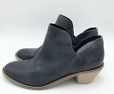 $ CDN72.78 • Buy Kelsi Dagger Brooklyn Kenmare Soft Black Leather Ankle Bootie Sz 7