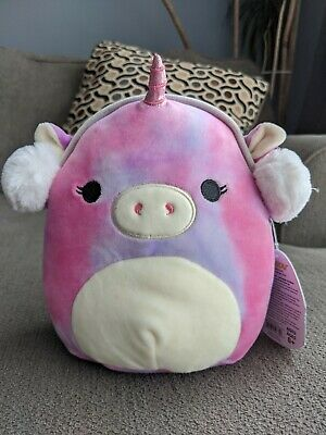 $ CDN18 • Buy Squishmallows  Holiday Christmas 8 Inch Lola The Unicorn Earmuffs  Squishmallow