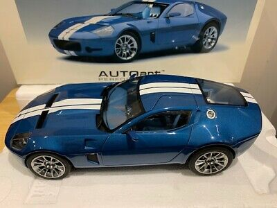 $ CDN249.99 • Buy 1/18 Autoart Ford Shelby GR-1 Concept Guardsman Blue With White Stripe See Note
