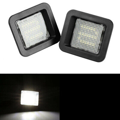 $11.99 • Buy For 2015-2019 Ford F-150 SUPER BRIGHT SMD LED License Plate Light Lamp Housing