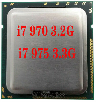 $ CDN83.24 • Buy Intel Core I7 970 3.2 GHz, I7 975 3.33 GHz CPU Processor LGA1366