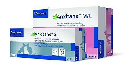 £16.70 • Buy ANXITANE CHEWABLE TABLETS Calming Tablets For Dogs & Cats 30 Tablet BEST PRICE!!