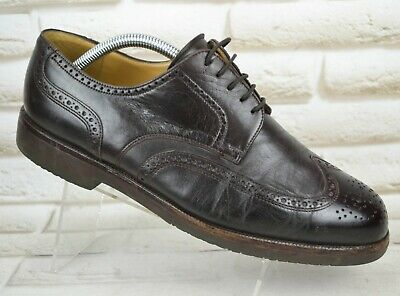 BALLY Mens Brown Leather Casual Formal Brogues Lace-Up Shoes Size 8 UK 42 EU • 32.95£