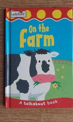 A Talk About Book On The Farm Ladybird Book 2003 • 3.99£