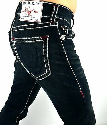 $109 • Buy True Religion Men's Ricky Relaxed Straight Super T Jeans - 102978 Size 29x32