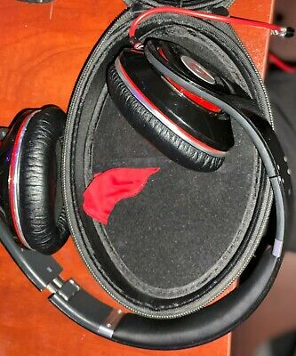 Monster Beats By DR. DRE Studio Wired Headphones Black 190003-00 • 32.19£