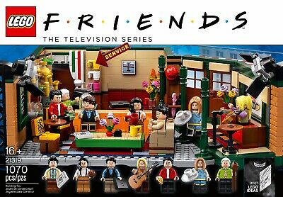 $75 • Buy LEGO FRIENDS Central Perk Set Ideas 21319 Brand New In Hand Factory Sealed!