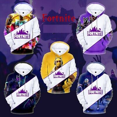 $ CDN9.92 • Buy NEW 2020 Fortnight Gamer 3D Battle Royale Men Women Kid Warm Hoodies Sweatshirts