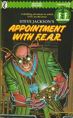 AU80.17 • Buy  Steve Jackson's Appointment With F.e.a.r. Fighting Fantasy Puffin Books 17