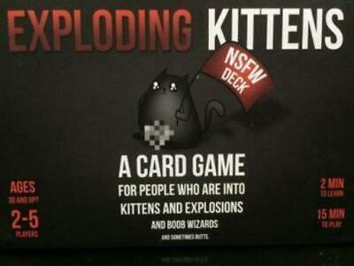 AU59 • Buy Exploding Kittens: NSFW Deck