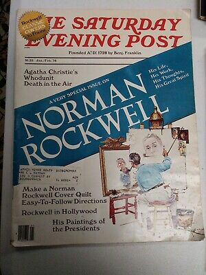 $ CDN19.06 • Buy The Saturday Evening Post. Jan./Feb. 78. A Very Special Issue On Norman Rockwell