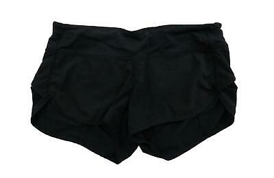$40.59 • Buy LULULEMON RUN Women's Speed Shorts Size 6 8 Black Yoga Running Spandex Athletic