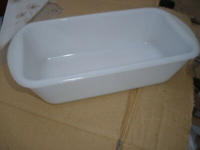Philips  Ecko Hostess Trolley Dishes  Glasbake Opaque / White Used • 16.50£
