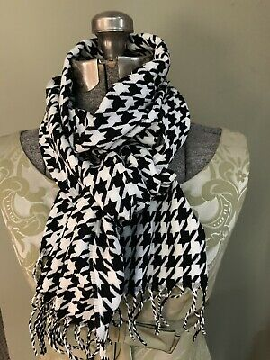 £7.07 • Buy Houndstooth Scarf Cashmere Feel