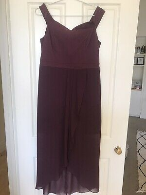 AU30 • Buy Forever New Burgunday Dress Size 14