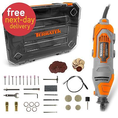£29.99 • Buy 80PC Rotary Multi Tool Hobby Precision Drill + Dremel Type Accessories UK Seller