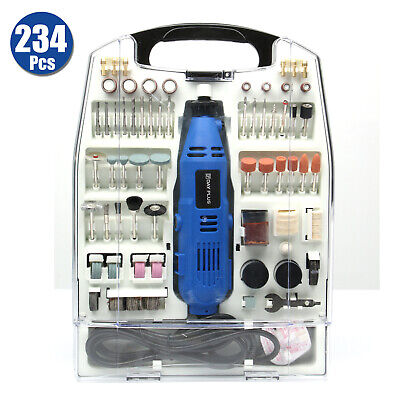 £38.40 • Buy Corded Rotary Multi Tool 135W With Variable Speed & 234pc Accessory Set
