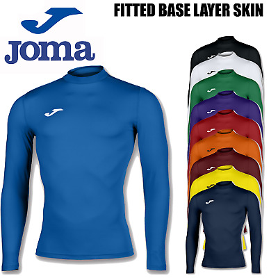 Joma Brama Academy Compression Skin Thermal Top Base Layer Mens Boys Kids Top • 15.99£