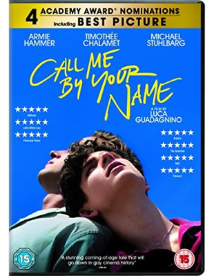 AU12.09 • Buy Call Me By Your Name DVD NEW