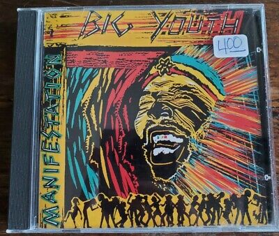 Big Youth ‎– Manifestation CD, 1988 Heartbeat Records • 3.26£